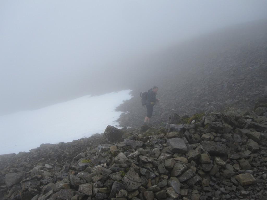 Ben Nevis Snow Line