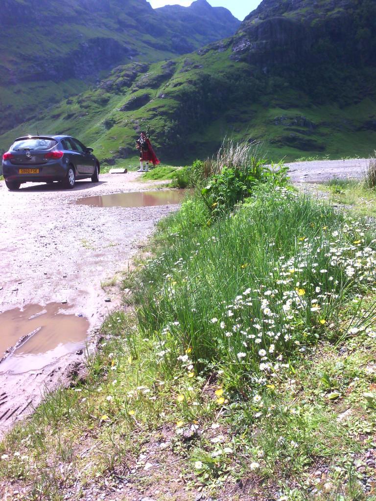 Car Park at Pass of Glencoe